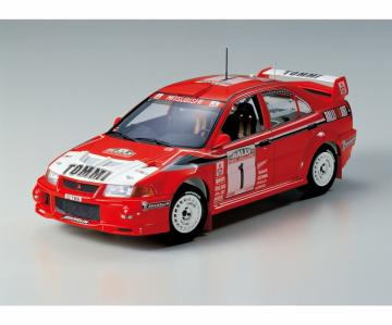 Lancer Evolution VI WRC · TA 24220 ·  Tamiya · 1:24