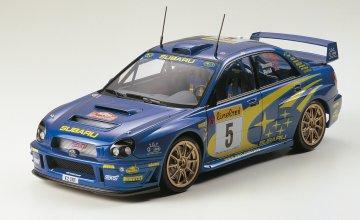 Subaru Impreza WRC 2001 · TA 24240 ·  Tamiya · 1:24