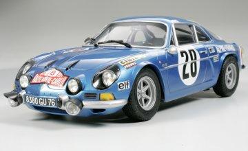 Renault Alpine A110 ´71 Monte Carlo · TA 24278 ·  Tamiya · 1:24