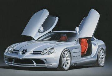Mercedes SLR McLaren · TA 24290 ·  Tamiya · 1:24