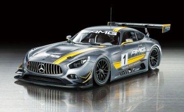 Mercedes-AMG GT3 #1 · TA 24345 ·  Tamiya · 1:24