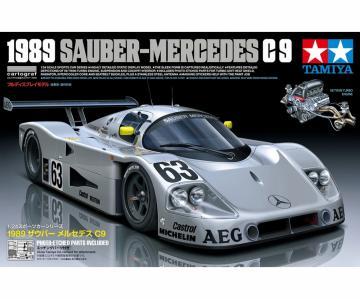 Sauber-Mercedes C9 1989 · TA 24359 ·  Tamiya · 1:24