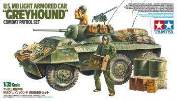 US M8 Greyhound Combat Patrol Set · TA 25196 ·  Tamiya · 1:35