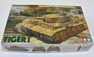 Dt. Tiger I m. Besatzung/Kommandant · TA 25401 ·  Tamiya · 1:35