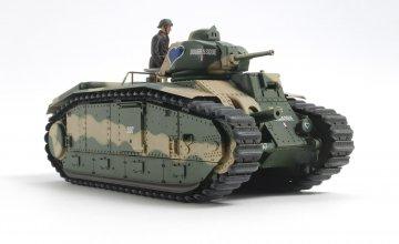 WWII Franz. Panzer B1 bis (motor.) · TA 30058 ·  Tamiya · 1:35