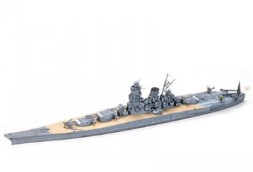 Musashi - Japanisches Kampfschiff - Waterline · TA 31114 ·  Tamiya · 1:700