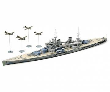 Prince of Wales Schlachtschiff - Waterline · TA 31615 ·  Tamiya · 1:700