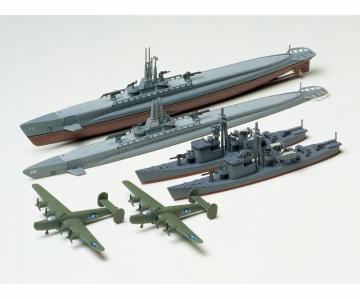 US U-Boot Gato m. Jap.U-Jagdboot · TA 31903 ·  Tamiya · 1:700