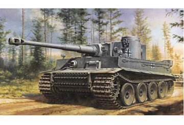 WWII Dt.Sd.Kfz.181 Tiger I Ausf.E · TA 32504 ·  Tamiya · 1:48