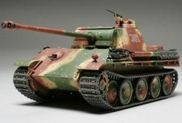German Panther Type G · TA 32520 ·  Tamiya · 1:48