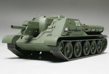 Russian Tank Destroyer SU122 · TA 32527 ·  Tamiya · 1:48