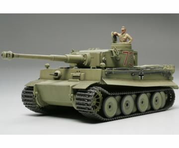WWII Dt.Tiger I Urprod.Afrika-Korps · TA 32529 ·  Tamiya · 1:48