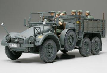 6x4 Truck Krupp Protze (Kfz.70) · TA 32534 ·  Tamiya · 1:48
