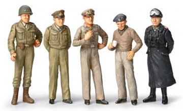 WWII Figuren-Set Feldherren(10) · TA 32557 ·  Tamiya · 1:48