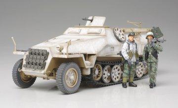 Sd.Kfz.251/1 Ausf.D Halbkette (2 Figuren) · TA 32564 ·  Tamiya · 1:48