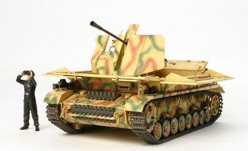 Möbelwagen Flak 43 3,7cm · TA 32573 ·  Tamiya · 1:48