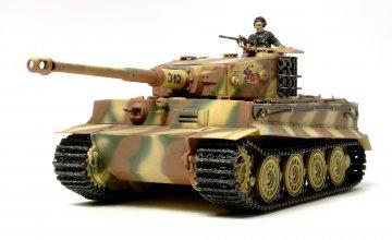 DT. Tiger I Late Prod.(Tentative) · TA 32575 ·  Tamiya · 1:48