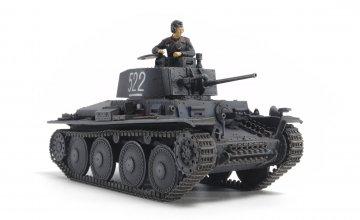 WWII PzKpfw. 38(t) Ausf. E/F · TA 32583 ·  Tamiya · 1:48