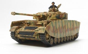 Dt. PzKpfw. IV Ausf.H (Späte Prod.) · TA 32584 ·  Tamiya · 1:48