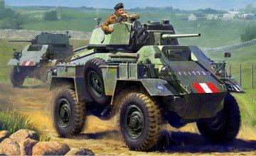 Brit. 7ton AC Mk. IV Panzerwagen · TA 32587 ·  Tamiya · 1:48