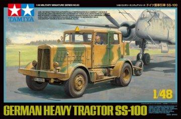Dt. Zugmaschine SS-100 · TA 32593 ·  Tamiya · 1:48