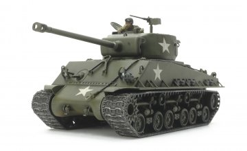 US M4A3E8 Sherman Easy Eight · TA 32595 ·  Tamiya · 1:48