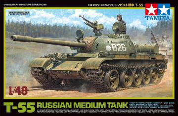 Rusischer Mittlerer KPz T-55 · TA 32598 ·  Tamiya · 1:48