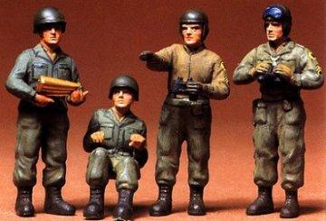 Figuren-Set US Panzerbesatzung (4) · TA 35004 ·  Tamiya · 1:35