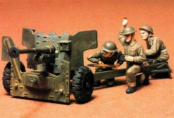 British 6 pdr Anti-Tank Gun · TA 35005 ·  Tamiya · 1:35