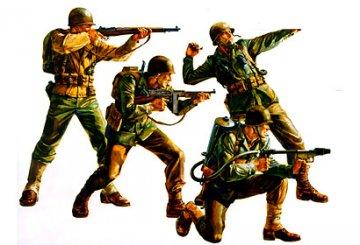US Army Infantry · TA 35013 ·  Tamiya · 1:35