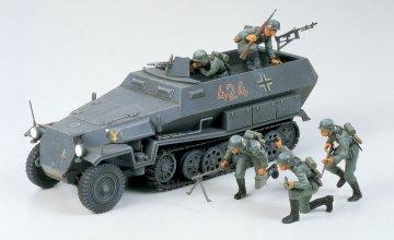 Sd.Kfz. 251/1 Hanomag · TA 35020 ·  Tamiya · 1:35