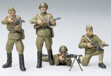 Russian Army Infantry · TA 35022 ·  Tamiya · 1:35