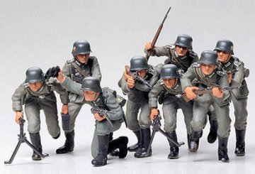 German Assault Troops · TA 35030 ·  Tamiya · 1:35
