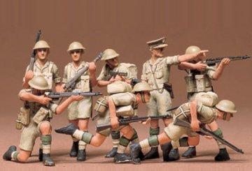 British 8th Army Infantry · TA 35032 ·  Tamiya · 1:35