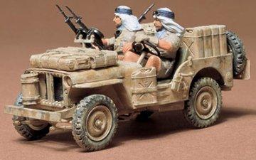 SAS-Jeep · TA 35033 ·  Tamiya · 1:35