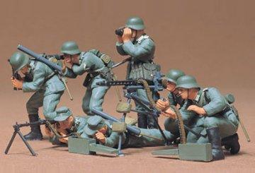 German Machine Gun Troops · TA 35038 ·  Tamiya · 1:35