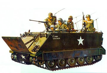 US M113 Armored Personnel Carrier · TA 35040 ·  Tamiya · 1:35