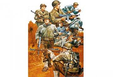 WWII Fig.-Set US Infant. W-Eur.(8) · TA 35048 ·  Tamiya · 1:35