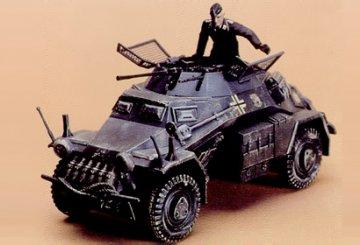 GER. ARM. CAR SD KFZ.222 · TA 35051 ·  Tamiya · 1:35