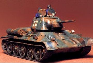 T34/76 1943 · TA 35059 ·  Tamiya · 1:35