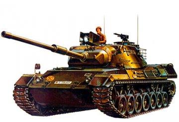 BW Leopard A 1, Medium Tank · TA 35064 ·  Tamiya · 1:35