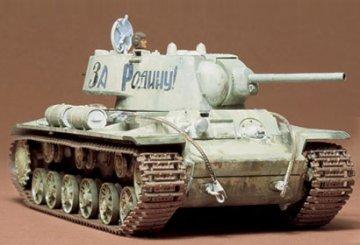 KV-I  Russian Heavy Tank · TA 35066 ·  Tamiya · 1:35
