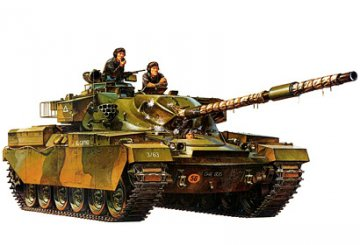 Brit. Tank Chieftain Mk 5 · TA 35068 ·  Tamiya · 1:35