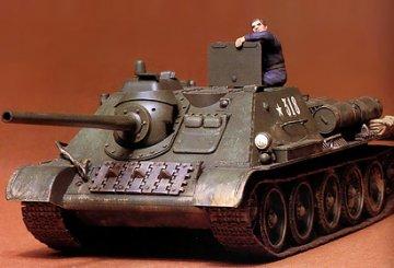 Jagdpanzer Su-85 · TA 35072 ·  Tamiya · 1:35