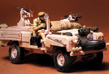 British SAS Land Rover, Pink Panther · TA 35076 ·  Tamiya · 1:35