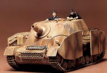 German Sturmpanzer IV Brummbaer · TA 35077 ·  Tamiya · 1:35