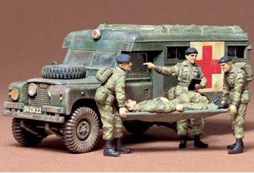 British Ambulance Rover 7 · TA 35082 ·  Tamiya · 1:35