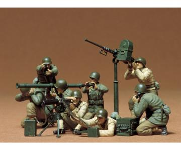 US MG/Mörser Trupp (8 Figuren) · TA 35086 ·  Tamiya · 1:35