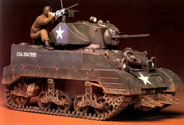 WWII US Leichter Panzer M5A1 (1) · TA 35097 ·  Tamiya · 1:35