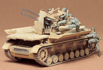 Sd.Kfz. 163 Flakpanzer IV, Möbelwagen · TA 35101 ·  Tamiya · 1:35